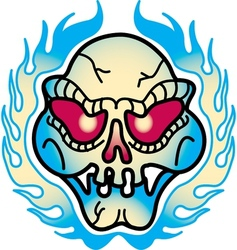 Contemporary Tattoo Art vector image vector image