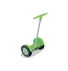 Electric segway isometric 3d element vector