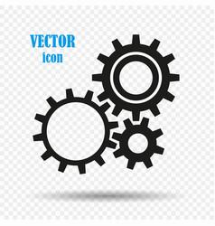 gears the concept of mechanics robotics vector image