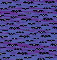 Halloween Bats Pattern vector