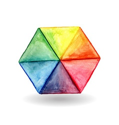 Hexagon Design Element vector image