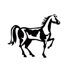 Horse Retro vector