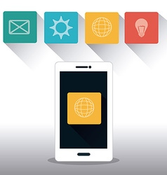 Marketing online design vector