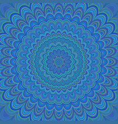 Psychedelic mandala ornament background vector