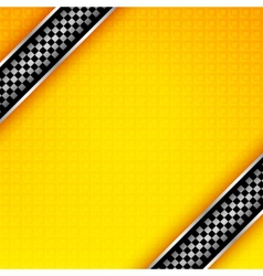 Racing ribbons background vector image