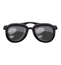 Sunglasses icon cartoon style vector