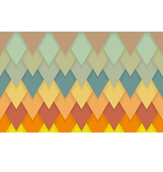Triangle chevrons art deco pattern background vector