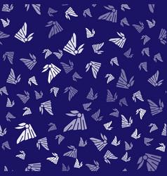 White bandana or biker scarf icon isolated vector