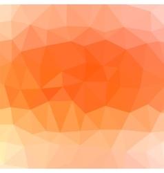 Mosaic orange background vector