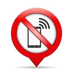 No phones sign vector