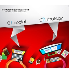 Brochure template for your business project Flyer vector image vector image