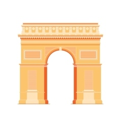 Arc de Triomphe - triumphal arc in Paris France 4 vector