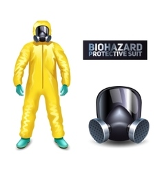 Biohazard Protective Suit vector