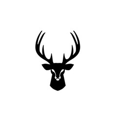 Deer head logo design inspirations vector