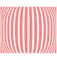 striped background coral color abstract vector image