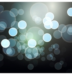 modern abstract bokeh background vector image