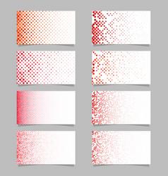 abstract digital diagonal rounded square mosaic vector image