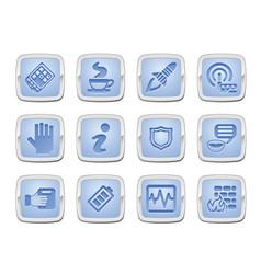 Application icon set vector
