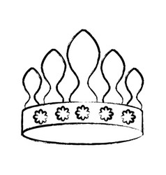 Queen crown icon image vector