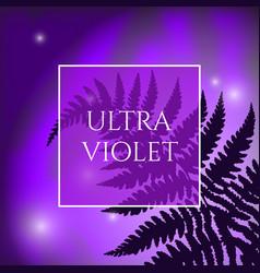 Ultra violet background vector