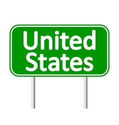 United States road sign vector