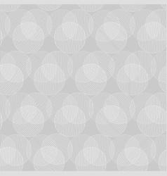 White circle seamless pattern vector
