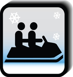 Winter icon -Bob vector image vector image