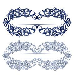 antique retro lace background vector image