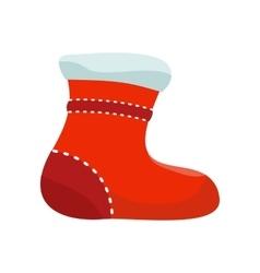 Sock for Christmas Stocking vector image