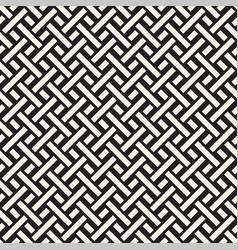 trendy monochrome twill weave seamless vector image