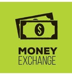 Money Exchange icon vector image vector image