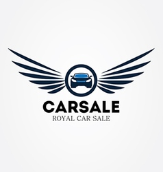 Car sale preview vector