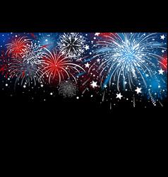 Fireworks background design vector