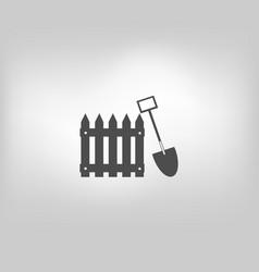 Icon fence fencing vector