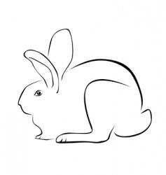 Tracing a rabbit vector