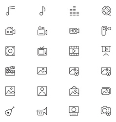 User interface icons 6 vector