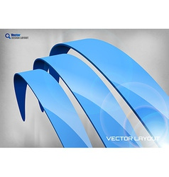 stripes big blue vector image