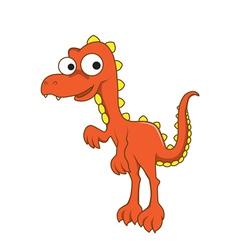 Tyrannosaurus rex cartoon vector image