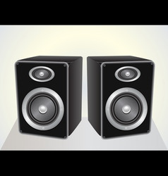 speakers set vector image vector image