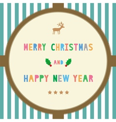 MC and HNY greeting card16 vector