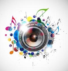 speaker design vector image