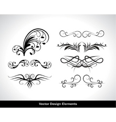 vector set of design elements vector image