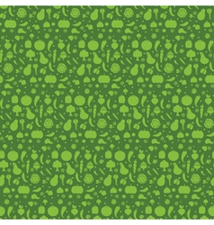 seamless pattern with the vegetables vector image vector image