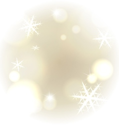 Light warm snowy background vector image vector image