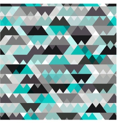 seamless geometric texture background vector image vector image