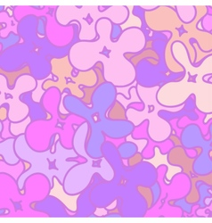 Background witn flowers in violet colors vector image