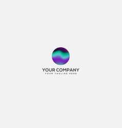 Aurora logo designs full color logo light vector
