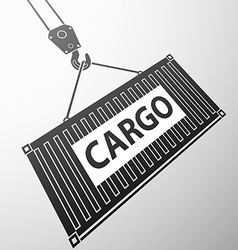Container cargo Stock vector image