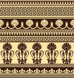 greek design seamless vector image