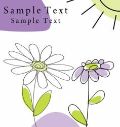 infant card vector image